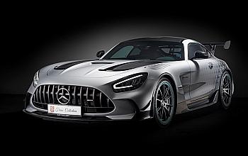 O unitate Mercedes-Benz AMG GT Black Series produsa anul curent, cea mai recenta achizitie auto efectuata de dl. Ion Tiriac pentru colectia sa, poate fi admirat in premiera la expozitia Mercedes-Benz din Piata Victoriei, in perioada 24-30 septembrie.