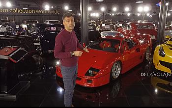Modelul Ferrari F40 – prezentat la Digi 24