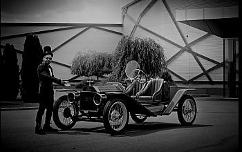 1914 Ford Model T Speedster din galeria Tiriac Collection a fost prezentat de Autovantage