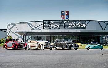 Eveniment special dedicat pasionatilor de autovehicule: Tiriac Collection organizeaza o expozitie auto unicat, in aer liber, cu acces gratuit, in weekendul 10-12 septembrie 2021